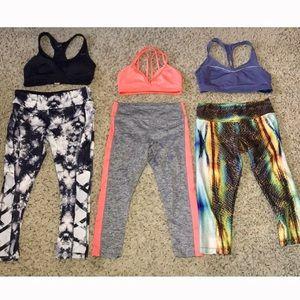 Yoga outfit bundle